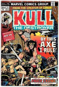 Kull The Destroyer #11 (Marvel, 1972) VG/FN