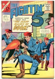 FIGHTIN' 5 #31-CHARLTON WAR COMIC VF