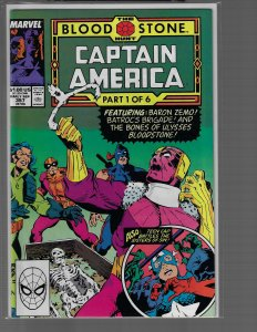 Captain America #357 (Marvel, 1989) NM-
