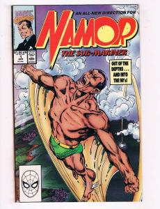 Namor The Sub Mariner #1 FN Marvel Comics Comic Book April 1990 DE34
