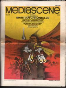 Mediascene #36 1979-Ray Bradbury-Buck Rogers-Moonraker-007-James Bond-FN