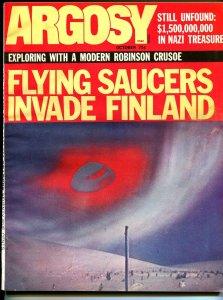 Argosy 10/1971-Popular-Flying Saucer issue-exploitation-pulp fiction-VF