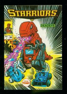 STARRIORS #1 1984- MARVEL MINI COMICS- TOMY -PRINTED IN JAPAN