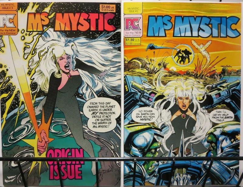 MS MYSTIC (1982 PC) 1-2  NEAL ADAMS GLORY!!!!