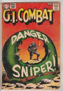 G.I. Combat #88 (Jul-61) GD- Affordable-Grade Haunted Tank