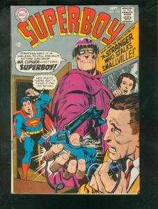 SUPERBOY #150 1968-NEAL ADAMS SILVER AGE COVER ART-RARE VG