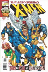 Astonishing X-Men #1 (Sept 99) - From the Ashes of the Shattering - Wolverine