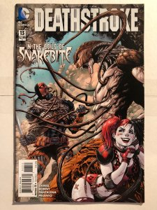 Deathstroke #11 (2011)- New 52