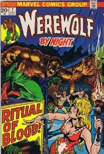Werewolf By Night #7 ORIGINAL Vintage 1973 Marvel Comics