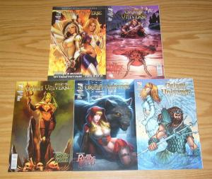 Grimm Fairy Tales Presents Grimm Universe #1-5 VF/NM complete series  A variants