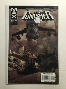 Punisher 40 Near Mint Nm Max Comics Marvel