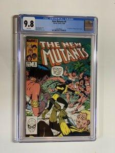 New Mutants 8 Cgc 9.8 Wp Marvel