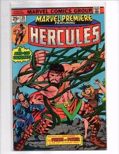 Marvel Comics (1975) Marvel Premiere #26 Hercules Jack Kirby Cover Art
