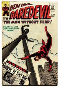 DAREDEVIL #8 1964 Marvel comic book First appearance of Stilt Man