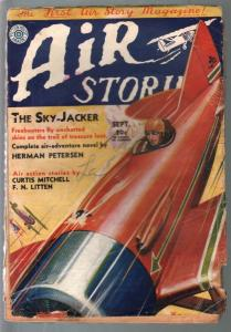 Air Stories 9/1931-earliest aviation pulp title-Peterson-R J Hogan-G