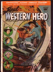 REAL WESTERN HERO #74 HOPALONG TOM MIX SAUNDERS COVER G