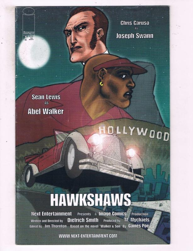 Hawkshaws #1 VF Image Comics Next Entertainment Comic Book DE16