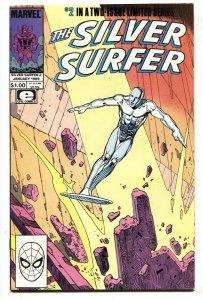 SILVER SURFER #2-1988 - MARVEL COMICS Epic-Moebius