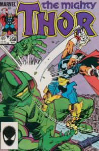 Thor #358 VF/NM; Marvel | save on shipping - details inside