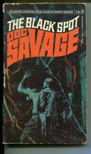 DOC SAVAGE-THE BLACK SPOT-#76-ROBESON-G-FRED PFEIFFER COVER-1ST EDTION G