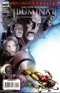 New Avengers: Illuminati (2007 series) #5, NM (Stock photo)