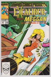 Marvel Comics Presents #34 (F) Excalibur
