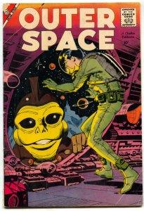 Outer Space #20 1958- STEVE DITKO- Charlton Comics VG