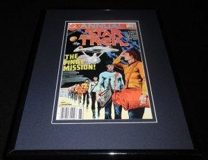 Star Trek Annual #2 1987 Framed 11x14 ORIGINAL Comic Book Cover