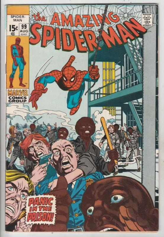 Amazing Spider-Man #99 (Aug-71) FN/VF+ High-Grade Spider-Man