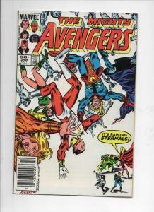 AVENGERS #248, VF/NM, Eternals, Captain Marvel, 1963 1984, Marvel, UPC
