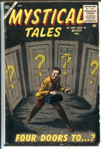 Mystical Tales #3 1956-Atlas-Bill Everett-terror-Reed Crandall-Mac Paluka-VG