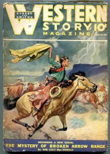 Western Story Magazine Pulp September 24 1938- Luke Short G