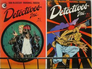 DETECTIVES INC (1985 Eclipse) 1-2  Rogers & McGregor