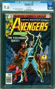 Avengers #185 CGC Graded 9.6