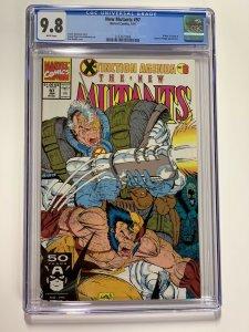 New Mutants 97 Cgc 9.8 White Pages Marvel X-men 006