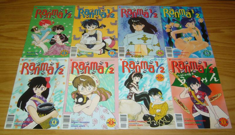 Ranma 1/2 part 5 #1-12 VF/NM complete series - viz manga - rumiko takahashi set