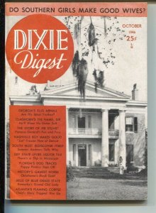 Dixie Digest #1 1/1937-1st issue-Florida's Dog tracks-Jeb Stuart-duels & feud...