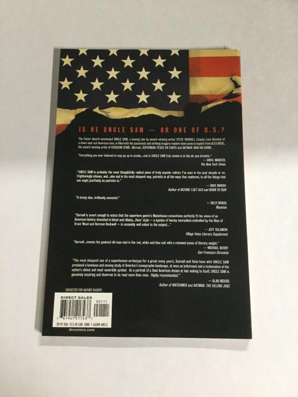 Uncle Sam Nm Near Mint DC Vetigo Comics SC TPB