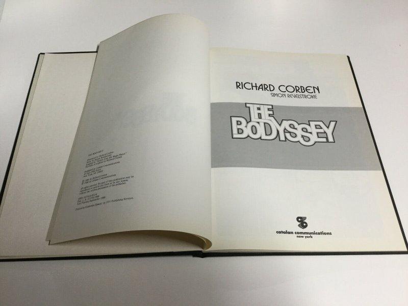 The Bodyssey Hardcover Richard Corben Simon Revelstroke Catalan Communications