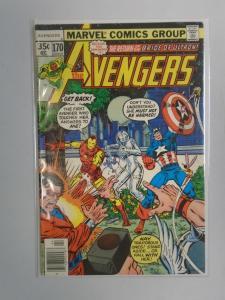 Avengers (1st Series) #170, 5.0 (1978)