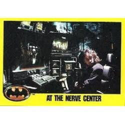 1989 Batman The Movie Series 2 Topps AT THE NERVE CENTER #254