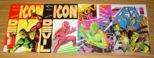 Icon Devil #1-2 VF/NM complete series + vol. 2 #1-2 neil hansen - spyder set