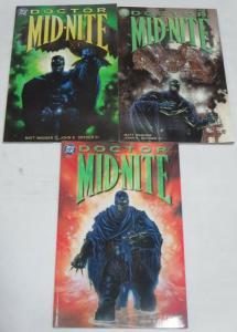 DOCTOR MIDNITE  (1999) 1-3 Complete Matt Wagner prestig
