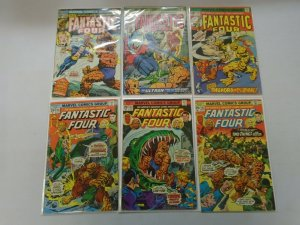 Fantastic Four lot 12 different 25c covers avg 4.0 VG (1974-78)