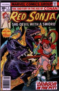 Red Sonja #5 ( 1st Series ) - 8.0 or Better