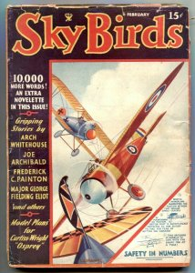 Sky Birds Pulp February 1935- George Fielding Eliot VG