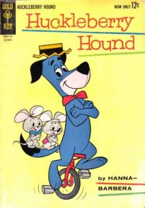 Huckleberry Hound (1959 series) #22, VF- (Stock photo)