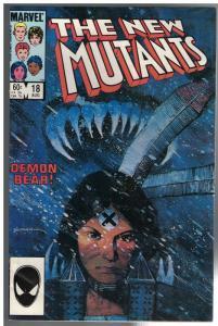 NEW MUTANTS 18 VG Aug. 1984