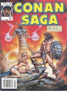 Conan Saga #60, Fine (Stock photo)