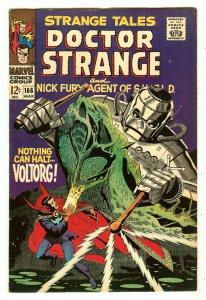 Strange Tales 166   Robot cover   Steranko